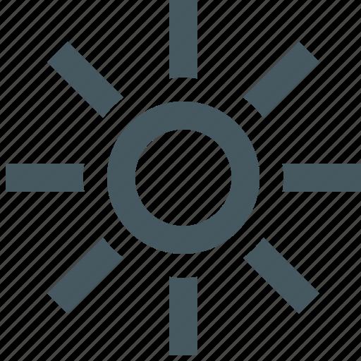 gizmo, season, simple, sun, sunshine, weather, weather app icon