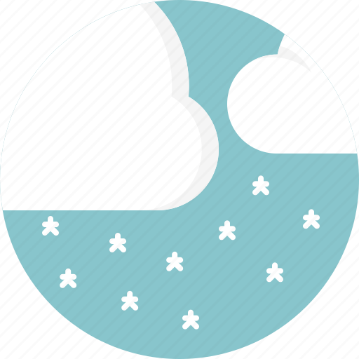 cloud, snowing, weather icon