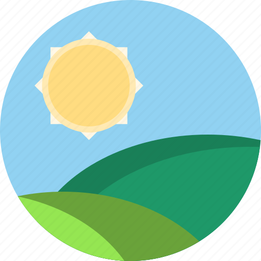 sun, weather icon