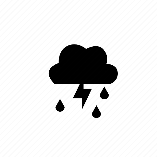 bad weather, rain, rainy, storm, thunder, thunder storm, weather icon