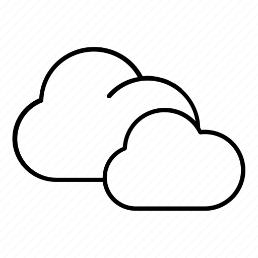 cloud, cloudy, forecast icon
