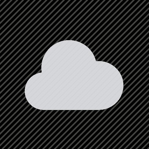 apple, cloud, mostly cloudy, nebula, nebulosity, weather icon