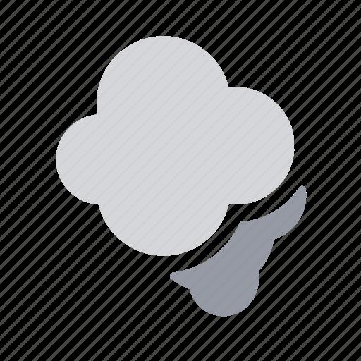 apple, ios, low, smog, smoke, visibility, weather icon