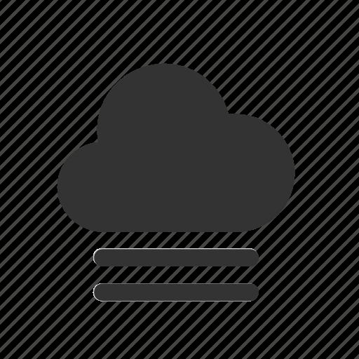 apple, cloud, fog, ios, mist, vapor, weather icon