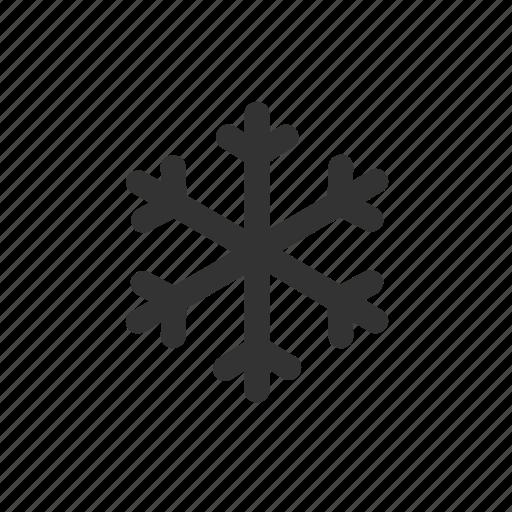 apple, cold, ios, snow, snowflake, weather icon