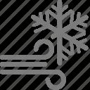 winter, snowy, snow, windy, weather, wind
