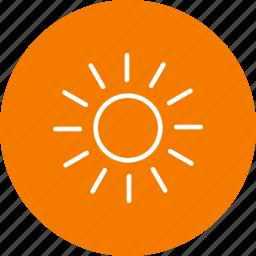 day, sun, sunny icon