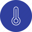 celsius, fever, forecast, temperature, thermometer icon