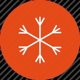 freezing, snow, snow fall, snow flake icon