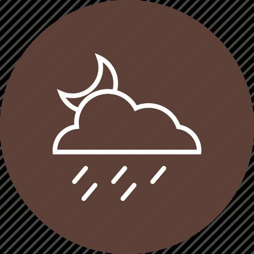 Cloud, night, rain icon - Download on Iconfinder