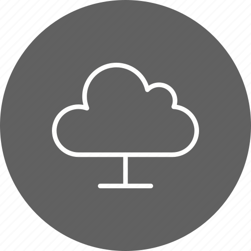 cloud computing, storage, upload icon
