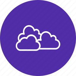 cloud, clouds, cloudy, overcast icon