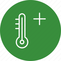 hot, summer, thermometer, warm icon