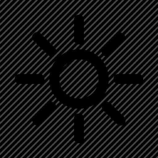 summer, sun, sunny, weather icon
