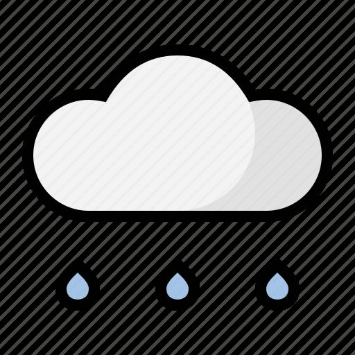 light, rain, weather icon