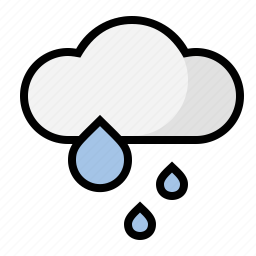 rain, storm, weather icon