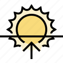 sunrise, weather icon
