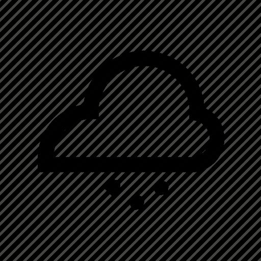 cloud, hail, meteorology, weather icon