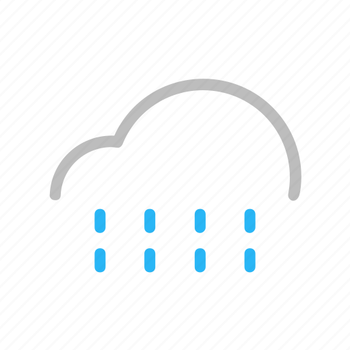 Cloud, color, forecast, line, rain, weather icon - Download on Iconfinder