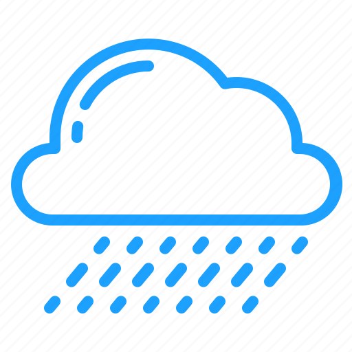 cloud, showers, weather icon