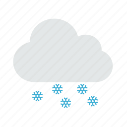 snow, snowflake, snowing, weather, winter icon