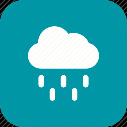 cloud, rain, raining icon