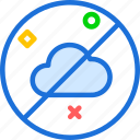 cloudless, sky, weather icon