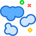 cloud, clouds, cloudy, sky icon