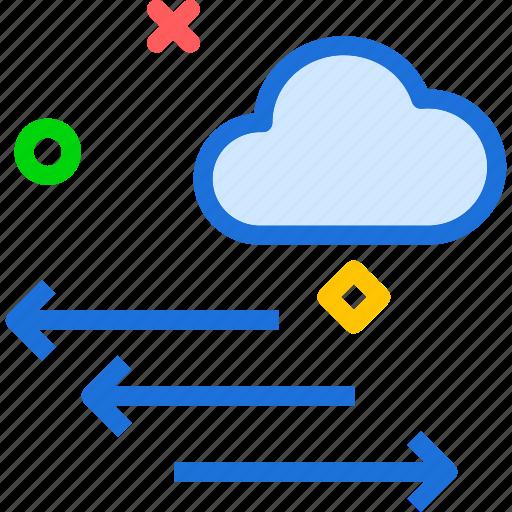 cloud, pressure, sky, temperature, weather, wind icon