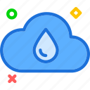 cloud, rain, rainy, weather icon