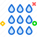 drops, rain, rainy icon