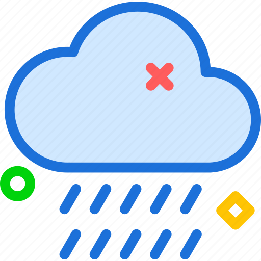 cloud, cloudy, rain icon