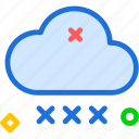 cloud, cloudy, dry, rain, weather icon