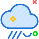 cloud, cloudy, rain, rainy icon