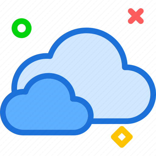cloud, cloudy, sky icon