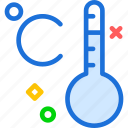 celcius, hot, temperature, thermometer icon