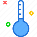 cold, frozen, thermometer icon