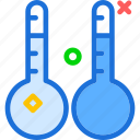 temperature, thermometers, weather icon
