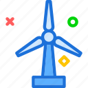 wind, windmill icon
