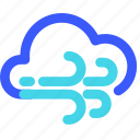 25px, and, cloudy, iconspace, windy icon