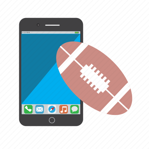 american football, apple, football, iphone, iphone 6 plus, nfl, phone, sports icon