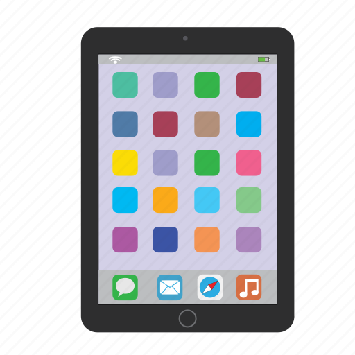air, apple, gadget, ipad, ipad mini, tablet icon