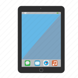 air, apple, gadget, ipad, ipad air, ipad mini, tablet icon
