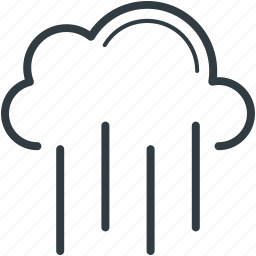 atmosphere, cloud, rain, weather, winds icon