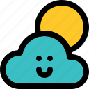 bright, cloudy, overcast, cloud, element, elements, weather