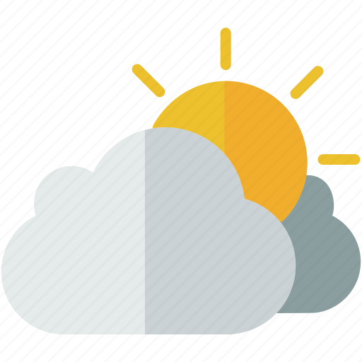 cloudy, forecast, rain, storm, weather icon