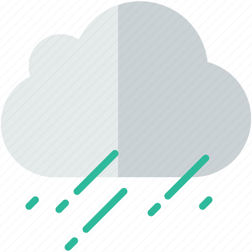 cloud, forecast, heavy, rain, weather, winter icon