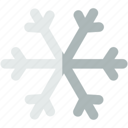 forecast, snowflake, snowy, weather, winter icon