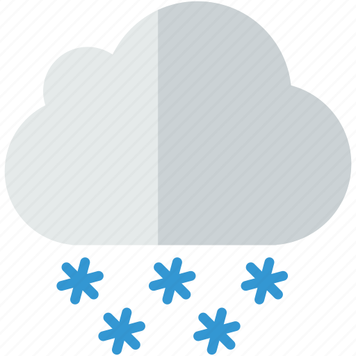 cloud, forecast, snowy, weather, winter icon