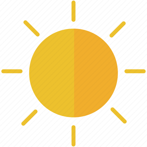 day, forecast, summer, sun, weather icon
